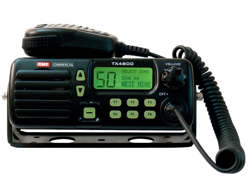 TX4800V VHF 25W local mount IP67 radio