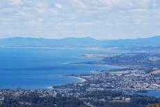 Coastal View from Mt Montgomery - Five minutes from Penguin town centre